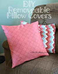 diy throw pillow covers and easy envelope cases