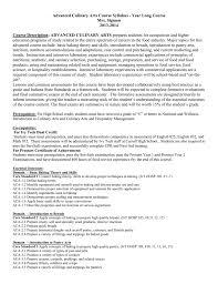 Culinary Math Conversion Chart Advanced Culinary Arts Culinary 2 Syllabus