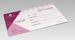 gift certificate for business 8 email gift certificate templates free sample example format