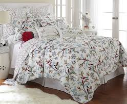 Amazon.com: Holly Full/Queen Quilt Set, White/Red, Cotton ... & Amazon.com: Holly Full/Queen Quilt Set, White/Red, Cotton Christmas Holiday:  Home & Kitchen Adamdwight.com