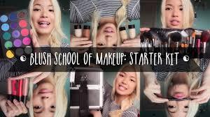 blush of makeup starter kit ft pigment cosmetics