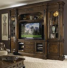 Traditional Entertainment Center Wall Unit by Fine Furniture ...