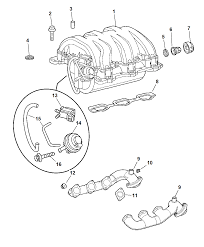 2007 chrysler crossfire intake exhaust manifold diagram i2178595