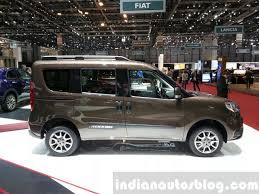Fiat Doblo Trekking side at the 2015 Geneva Motor Show - Indian ...