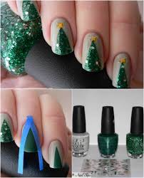Decorative Nail Art Designs 100 Fantastic DIY Christmas Nail Art Designs That Are Borderline 39