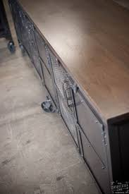 Custom Metal Cabinets Custom Industrial 9 Foot Rolling Media Cabinet Wood Steel