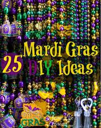 25 mardi gras diy ideas