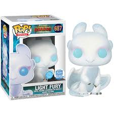 Light Fury Funko How To Train Your Dragon The Hidden World Glitter Light Fury Funko Shop Exclusive Rs