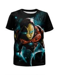"""Детские <b>футболки</b> c эксклюзивными принтами """"<b>iron</b> man"""" - <b>Printio</b>"""