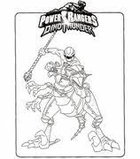 Disegni Power Rangers Da Colorare