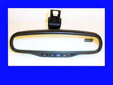 gentex auto dimming rearview mirror chevy gmc cadillac pontiac buick gm auto dimming rear view mirror onstar compass