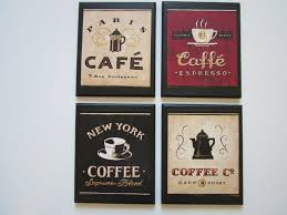 Cafe Decorations For Kitchen Coffee Shop Sign Etsy
