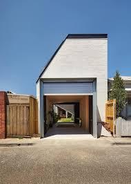 Klinker Weiß Streichen Einfamilienhaus In Melbourne Australien