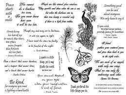 Sprüche 8 12 X 11 Stempel Blatt Zitate Pfau Schmetterling Etsy