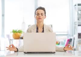office meditation. Shutterstock_205958422 Office Meditation W