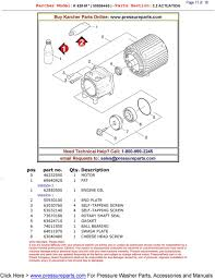 buy karcher parts online need technical help call requests to version 1 2 50930100 1 end plate 3 63030760 4 self tapping screw 3 63032140