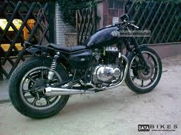 1982 kawasaki z 440 ltd cafe racer motorcycle chopper cruiser photo