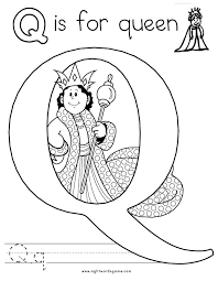 Small Picture Best Letter Q Coloring Page 48 For Seasonal Colouring Pages with