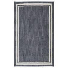 border loop denim cream 8 ft x 10 ft area rug