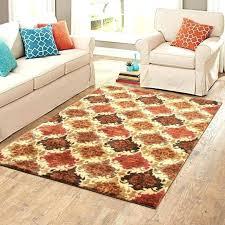 turquoise and orange rug round area rugs green medium size ikat