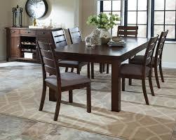 5 piece dining room set 7 pc wiltshire rustic pecan wood finish rectangular rough sawn plank