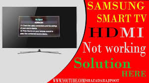 tv no cable. connect pc to samsung tv hdmi no signal | says cable box on but - youtube t