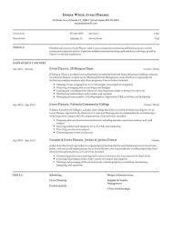 Event Coordinator Resumes Carinsurancequotes66 Info