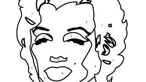 Small Picture The Most Stylish Andy Warhol Coloring Pages pertaining to Really