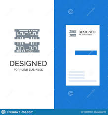 Computer Card Design Cards Component Computer Grey Logo Design And Business