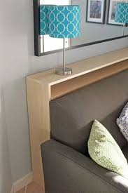 Sofa Engaging Thin Table Behind Couch 9 Bookshelf Headboard