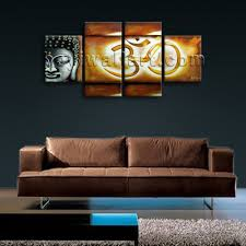 Paintings For Living Room Feng Shui Large Abstract Feng Shui Painting Giclee Print Buddha Om Zen Art