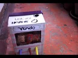 Homemade Candy Vending Machine Best Homemade Candy Vending Machine YouTube
