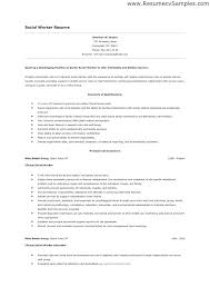 Resume Objective Examples For Any Job Social Work Resume Objective Examples Thrifdecorblog Com