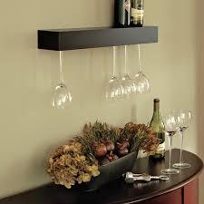 Wine Glass Hangers Under Cabinet Wine Glass Rack Shelf L Comehomedisneycom