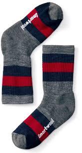 Smartwool Kids Socks Size Chart Smartwool Kids Striped Hike Medium Crew Socks