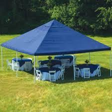 nle7sl 00 shelterlogic 20 x 20 celebration blue canopy
