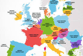europe map countries. Simple Europe What Every European Country Is The Worst At With Europe Map Countries