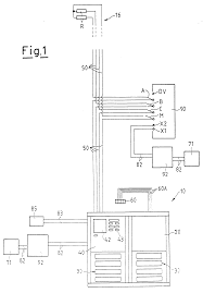 patent ep0876044a2 electric connection system for intercom and Intercom Wiring Diagram Intercom Wiring Diagram #26 internet wiring diagram