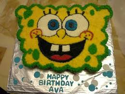 Spongebob Cupcake Cake I Made Cakes And Cupcakes Ive Made