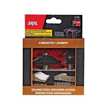 skil carbide tipped router bit set