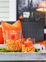 Outside Fall Decor 9 Halloween Front Porch Decorating Ideas Hgtv