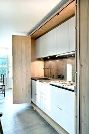 sliding kitchen cabinet doors retractable diy
