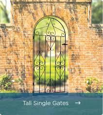 metal garden gates metal garden