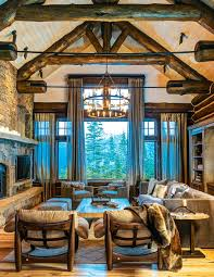Interior Design Mountain Homes Set Unique Decorating