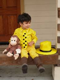 curious george costume curious george and man in the yellow hat toddler costume