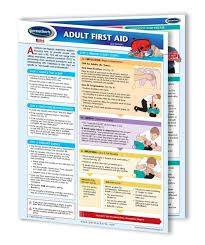 Details About Adult First Aid Chart First Aid Cpr And Choking Quick Reference Guide
