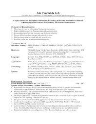 Program Analyst Resume Jmckell Com