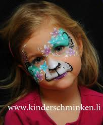 adorable y kitty cat face painting