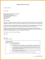 Loi Letter Sample Cool Letter Of Intent For Retirement To Employer Retirementr Sampler