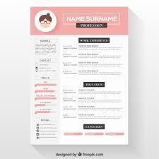Creative Resume Template Free Download Beautiful Editable Cv Format